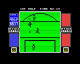 4 Soccer Simulators ZX Spectrum He shoots!