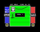 4 Soccer Simulators ZX Spectrum That'll be a foul, free kick awarded