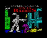 International Ninja Rabbits ZX Spectrum Loading screen