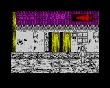 International Ninja Rabbits ZX Spectrum And here we are at the end of level 1, now all we need to do is press play on the cassette and wait for level 2 to load