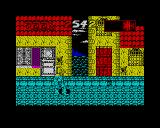 International Ninja Rabbits ZX Spectrum Oh and you can go down more sewers