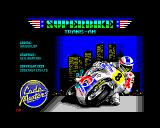 Super Bike TransAm ZX Spectrum Loading screen