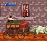 Cutthroat Island Genesis Crazy guys jumping on the carriage