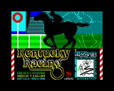 Kentucky Racing ZX Spectrum Loading screen