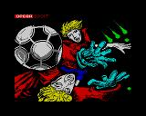 Mundial de Fútbol ZX Spectrum Loading screen