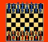 Battle Chess NES The game begins