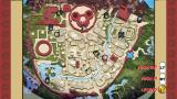 Naruto: Rise of a Ninja Xbox 360 Map view of Leaf Village