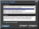 Dangerous Airports Windows The Dangerous Airports package comes with a selection of problem flights that can be accessed via the simulator's flight library function.