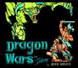 Dragon Wars NES Title screen