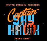Captain Skyhawk NES Title screen