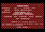 Monstrum Atari 8-bit Main menu