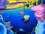 Pajama Sam 3: You Are What You Eat From Your Head To Your Feet Windows Riding a mountain lift under a gorgeous sky...