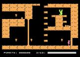Crypts of Egypt Atari 8-bit Time to climb some platforms