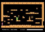 Crypts of Egypt Atari 8-bit Jumping trial