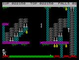 Bruce Lee ZX Spectrum Jumping trial
