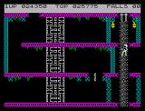 Bruce Lee ZX Spectrum Spikes on the top