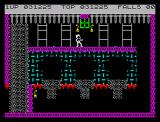 Bruce Lee ZX Spectrum 3 ways chamber
