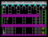 Bruce Lee ZX Spectrum Dead end