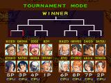Rival Schools PlayStation Tournament mode: You can play a tournament up to 8 players.