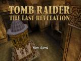 Tomb Raider: The Last Revelation PlayStation Title screen.