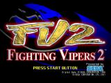 Fighting Vipers 2 Dreamcast Title screen.