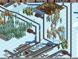 Transport Tycoon Deluxe Windows Snow covered mountain