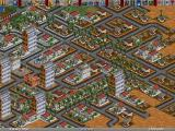 Transport Tycoon Deluxe Windows Cata City in the desert.