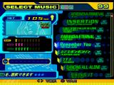 Dance Dance Revolution 5th Mix PlayStation Select a song.