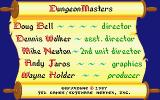 Dungeon Master Atari ST Credits screen