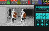 Dungeon Master Atari ST Fighting a group of skeletons!