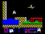 Blinkys Scary School ZX Spectrum On the surface