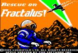 Rescue on Fractalus! Apple II Title screen