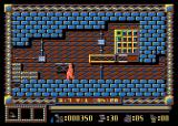 Spy Master Atari 8-bit Entering safe code