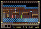 Spy Master Atari 8-bit Enemy shoot
