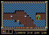 Spy Master Atari 8-bit Transported to another base area