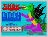 Smok Wawelski ZX Spectrum Title screen