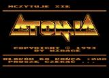 Atomia Atari 8-bit Loading screen