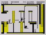 Zorro ZX Spectrum Engaging the levers system