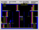 Zorro ZX Spectrum Vanishing platforms