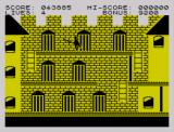 Zorro ZX Spectrum Heading to the tower