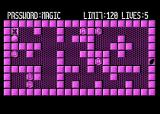 Magic of  Words Atari 8-bit Level 1: password magic, limit 120 moves