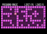 Magic of  Words Atari 8-bit Moving the stone