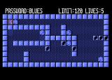 Magic of  Words Atari 8-bit Level 2: password blues, limit 120 moves