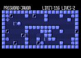 Magic of  Words Atari 8-bit The stone blow out