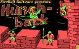 Hunchback DOS Title screen (cga)