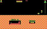 Hunchback DOS Room 1 - jump to avoid the balls (cga)