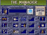 The Manager DOS Disk main menu