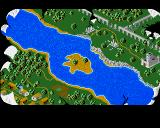 The Chronicles of Omega Amiga Map of the land where your missions occur.