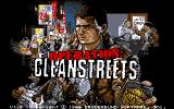 Operation: Cleanstreets Atari ST US main title