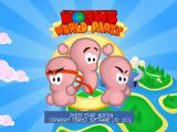 Worms World Party PlayStation Splash Image